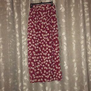 Julia Vintage long maxi skirt